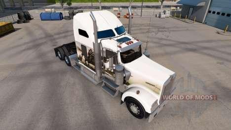 Скин Knights на тягач Kenworth W900 для American Truck Simulator