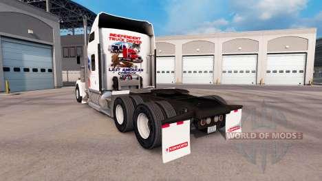 Скин Independent на тягач Kenworth W900 для American Truck Simulator