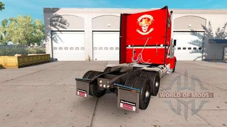 Скин Metallic на тягач Freightliner Classic XL для American Truck Simulator