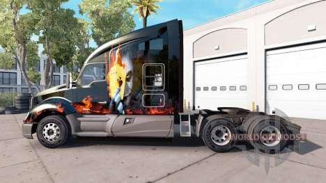 Скин Joker на тягач Kenworth для American Truck Simulator