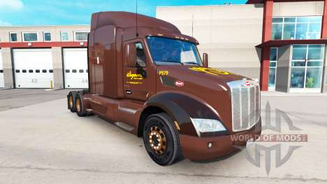 Скин Wegmans на тягачи Peterbilt и Kenworth для American Truck Simulator