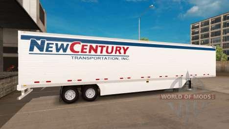 Рефрижераторный полуприцеп для American Truck Simulator