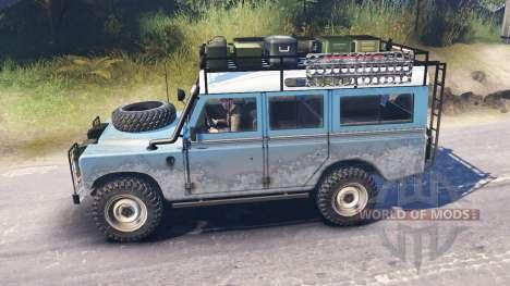 Land Rover Defender Series III для Spin Tires