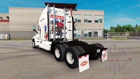 Скин Diesel Cowboy на тягач Peterbilt для American Truck Simulator