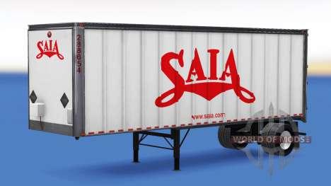 Логотипы реальных компаний на полуприцепы для American Truck Simulator