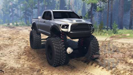 Toyota Tundra для Spin Tires
