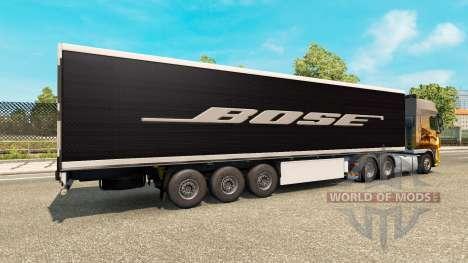 Скин Bose на полуприцеп для Euro Truck Simulator 2
