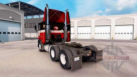 Скин Carolina на тягач Freightliner FLB для American Truck Simulator