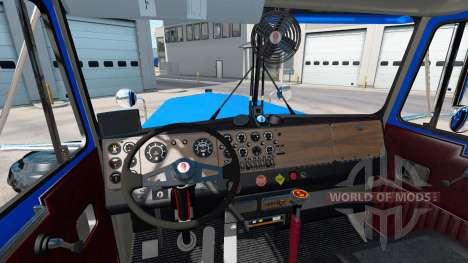 Kenworth W900A [fix] для American Truck Simulator