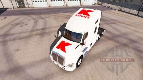 Скин Kmart на тягачи Peterbilt и Kenworth для American Truck Simulator