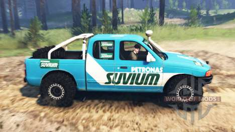 Ford 4x4 для Spin Tires