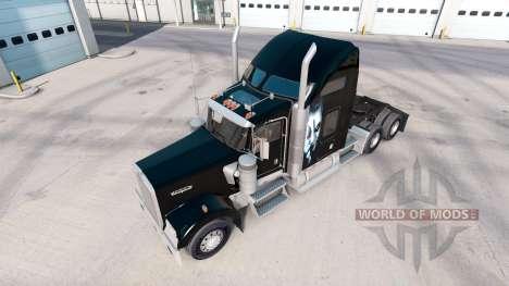 Скин Joker на тягач Kenworth W900 для American Truck Simulator