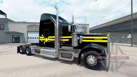 Скин Night на тягач Kenworth W900 для American Truck Simulator