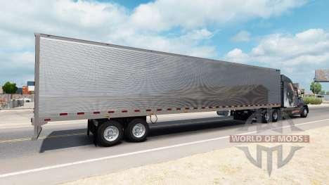 Хромированный рефрижераторный полуприцеп для American Truck Simulator