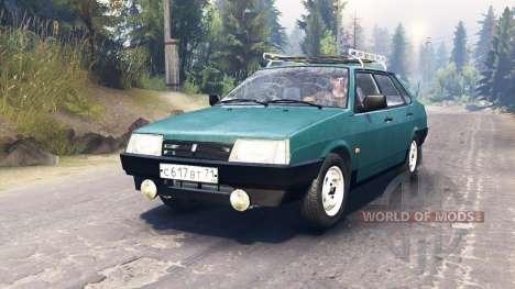 ВАЗ-21099 для Spin Tires