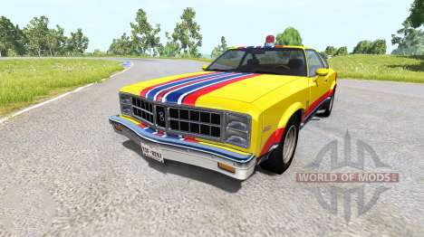 Bruckell Moonhalk MFP Pursuit для BeamNG Drive