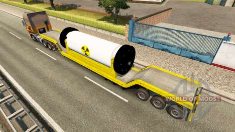 Трал с ядерным реактором для Euro Truck Simulator 2