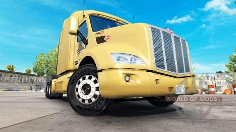 Скин Bison Transport на тягач Peterbilt для American Truck Simulator