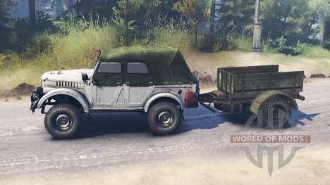 ГАЗ-69А для Spin Tires