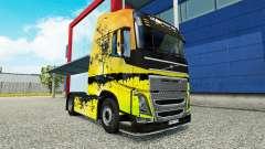 Скин Tree на тягач Volvo для Euro Truck Simulator 2
