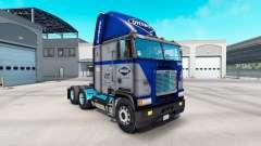 Скин Overnite на тягач Freightliner FLB