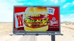Реклама США на билбордах