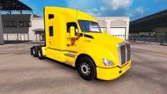 Скин Yellow Inc. на тягачи Peterbilt и Kenworth