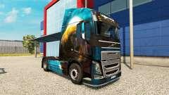 Скин Planet на тягач Volvo