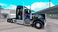 Скин World of Warcraft на тягач Kenworth W900