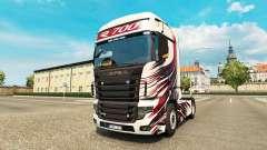 Скин MT Design на тягач Scania R700