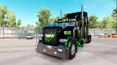 Скин Monster Energy на тягач Peterbilt 389