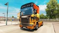 Скин Safari на тягач Scania