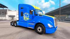 Скин Golden State Warriors на тягач Kenworth