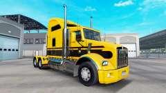 Скин Stripes v5.0 на тягач Kenworth T800