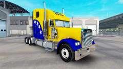 Скин Bosnia на тягач Freightliner Classic XL