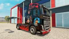 Скин Freddy Krueger на тягач Volvo