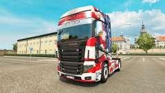 Скин USA на тягач Scania R700