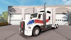 Скин USA на тягач Kenworth T800