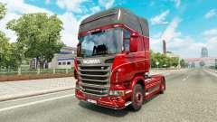 Скин Inter-Trans на тягач Scania