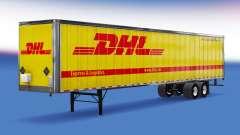 Цельнометаллический полуприцеп DHL