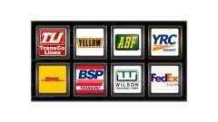 Логотипы грузовых компаний США
