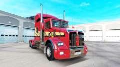 Скин Stripes v2.0 на тягач Kenworth T800