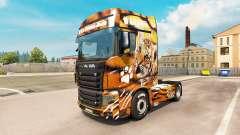 Скин Tiger на тягач Scania R700