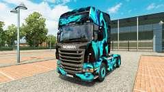 Скин Green Smoke на тягач Scania