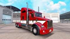 Скин Stripes v4.0 на тягач Kenworth T800