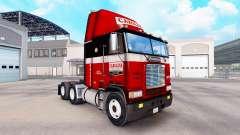 Скин Carolina на тягач Freightliner FLB