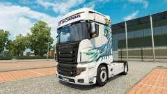 Сборник скинов на тягач Scania R700