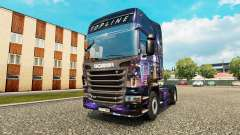 Скин Skyline на тягач Scania