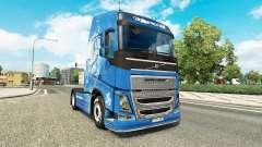 Скин Year of the Horse на тягач Volvo