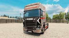 Скин Monstera на тягач Scania